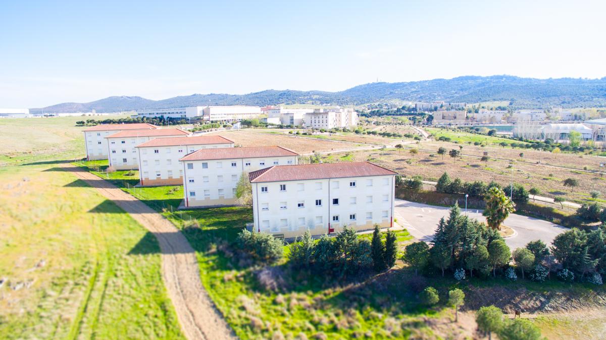 Bienvenida apartamentos universitarios Cáceres