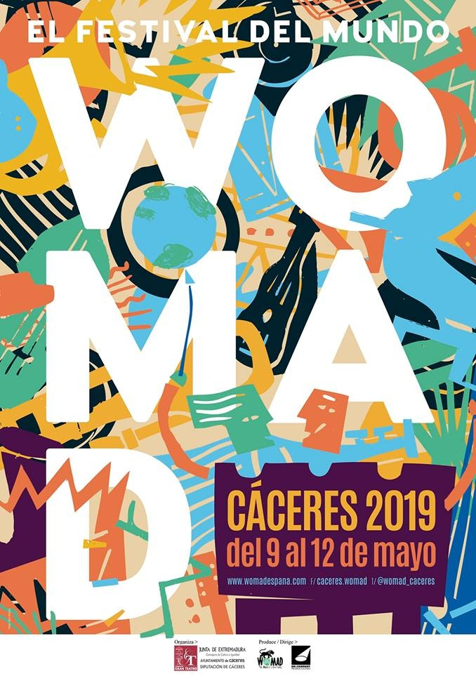 festival WOMAD Cáceres 2019