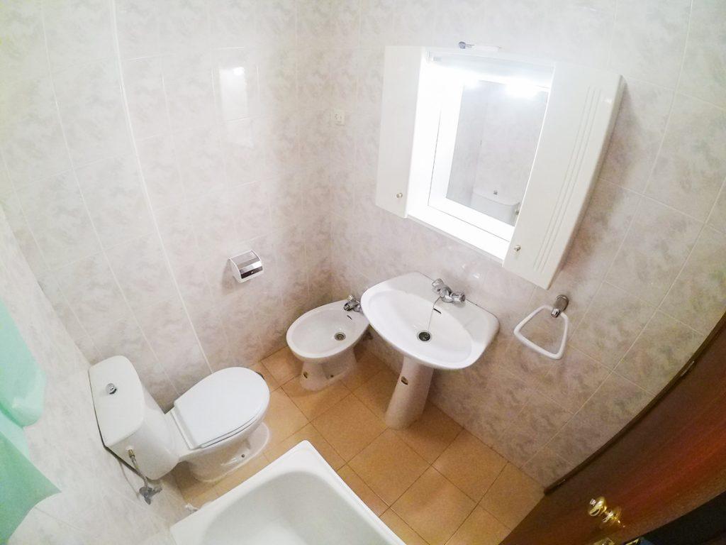 baño apartamentos universitarios cáceres