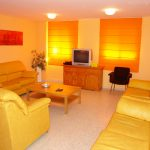 sala de estar apartamentos universitarios cáceres