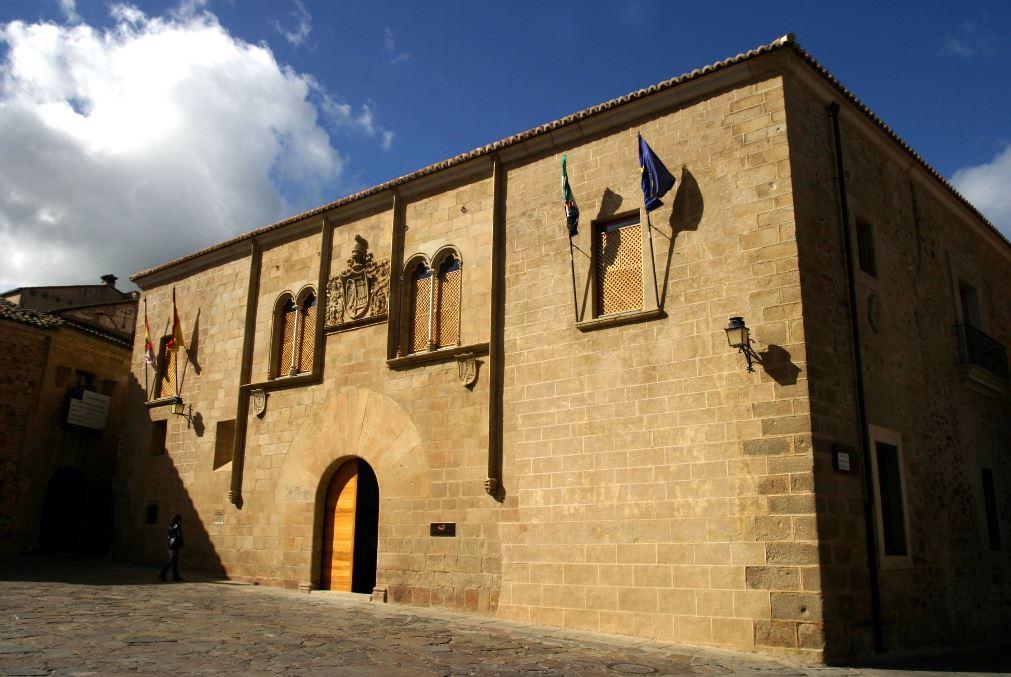 qué ver en cáceres, Palacio del Mayoralgo