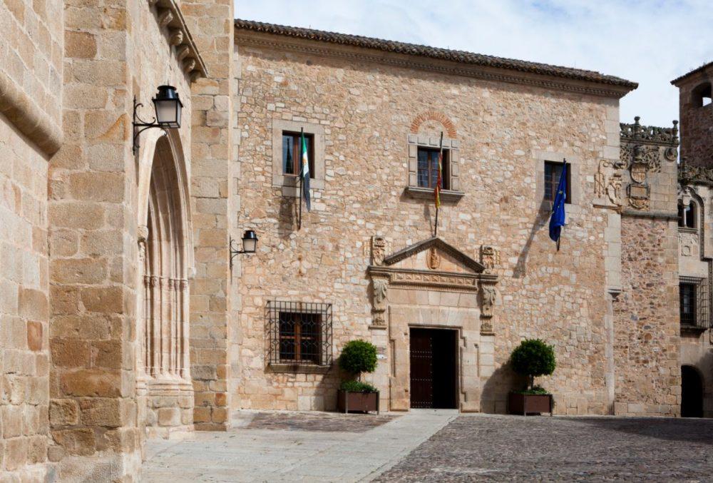 qué ver en cáceress, Palacio de la Diputación