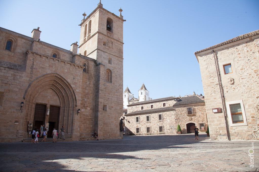 Qué ver en Cáeres, Plaza de Santa María